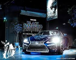 lighting stores in san fernando valley burbank speed shop to display black panther lexus at car show