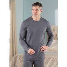 Sweater Pajamas The S Sleep Enhancing Pajama Shirt Hammacher Schlemmer