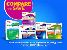 Meijer Home Decor Add Allergy Relief To Your Shopping List Meijer Com