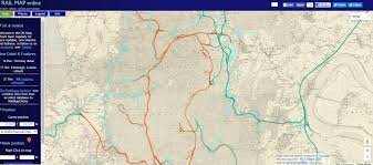 The Forest Map Railway Map Of The Forest Of Dean The Railways Of