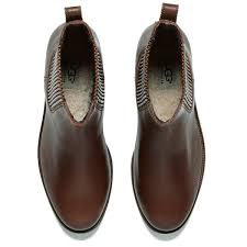 s ugg australia brown joey boots ugg s joey flat chelsea boots chestnut free uk delivery