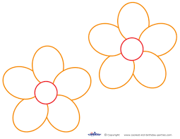 10 best images of free printable large flower patterns paper