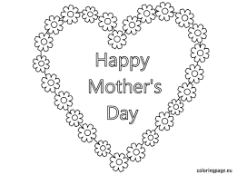 happy mother u0027s day coloring pages with flowers best images