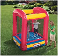 Little Tikes Football Toy Box Amazon Com Little Tikes Bounce House Trampoline Toys U0026 Games