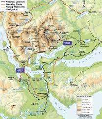 Patagonia Map Torres Del Paine National Park Map Torres Del Paine National