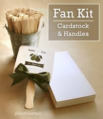 fan wedding program kits beautiful diy fan wedding programs kits wedding ideas