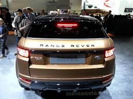 range rover evoque back 2014 range rover evoque with 9 speed auto frankfurt live