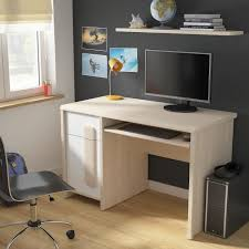 bureau chene clair colorado bureau contemporain décor chêne clair belluno l 120 cm