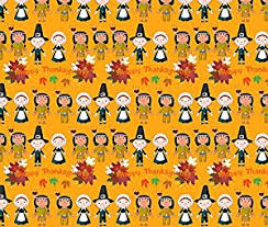 thanksgiving fabric happy thanksgiving by floramoon