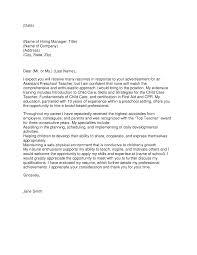 resume cover letter sample legislative assistant