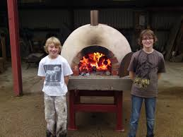 Build Brick Oven Backyard by How To Build Make A Homemade Wood Fired Clay Brick Pizza Oven