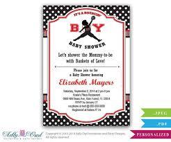 s shower invitations bouncin boy baby shower invitation air inspired baby