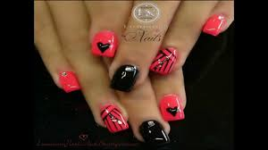 how to cute acrylic nails designs hd youtube