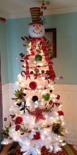 snowman christmas tree ideas christmas trees u0026 ideas for