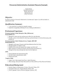 resume example skills and qualifications qualifications on resume free resume example and writing download administrative assistant resume qualification summary resume builder in summary of qualifications sample resume for administrative