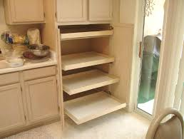 Portable Pantry Cabinet Pantry Cabinet Roll Out Pantry Cabinet With How To Build A Slide