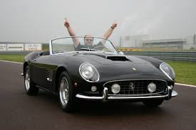 michael jordan ferrari living the spyderman dream at the wheel of james coburn u0027s