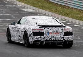 first audi r8 spy shots 2016 audi r8 caught testing for the first time news