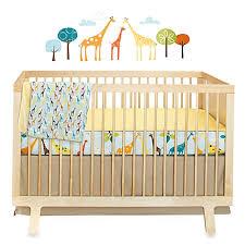 skip hop giraffe safari crib bedding collection buybuy baby