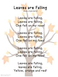 fall is here song classroom songs preschool