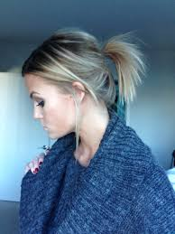 ponytail haircut technique messy ponytail hair pinterest messy ponytail ponytail and