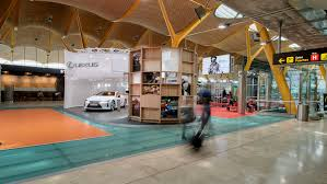 lexus hoverboard inside photo gallery new lexus installation inside the madrid airport