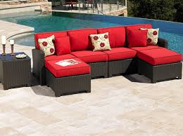 Red Patio Set by Mobile Patio Sets Wicker Labadies Patio Furniture