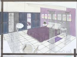 dessin chambre en perspective chambre perspective id es d coration int rieure farik us avec dessin