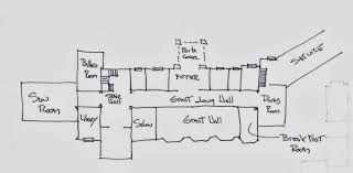 great gatsby house floor plan mansions gilded age building plans