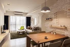 brick wall design red brick wall in living room interior interior design