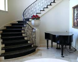 Grills Stairs Design Modern Home Staircases Mill Valley Ca Addition To Mid Century