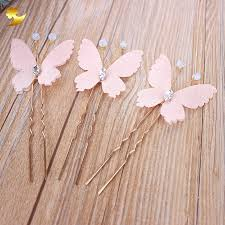 aliexpress buy white butterfly hairpins simple pretty