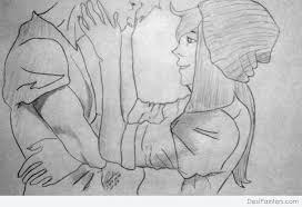 photos romantic love pencil drawing drawing art gallery