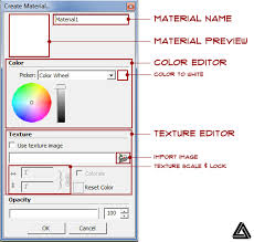how to import sketchup textures u0026 create custom materials
