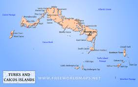 Central America And The Caribbean Map by Turks And Caicos Islands Map Geographical Features Of Turks And