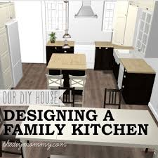 how to design a family kitchen with ikea cabinets the diy mommy