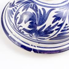 vintage italian blue u0026 white ceramic