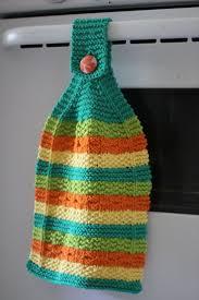 Kitchen Towel Holder Ideas Best 20 Knit Kitchen Towel Pattern Ideas On Pinterest Hanging