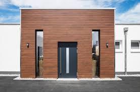 rivestimento facciate in legno nuova linea di doghe in composito wpc per facciate continue