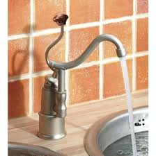 herbeau kitchen faucets single hole nickel tones jack london