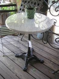 Marble Bistro Table And Chairs Bistro Table For Sale Foter