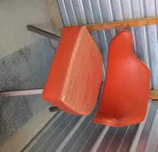 Gasser Chair Hard To Find Amazing 1960 Vintage Mid Century Modern Orange