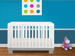 Natural Wood Convertible Crib by Bedroom Nice Brown Wood Baby Cache Crib With White Mattress For