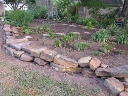 rock garden borders edging gardens with river stones youtube home