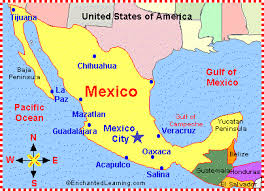 map of the mexico mexico map zoomschool