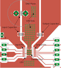 general pcb design layout guidelines voltage regulator pcb layout infineon technologies