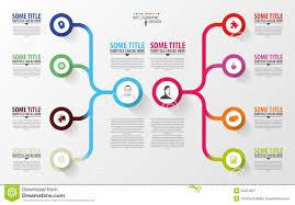 business floor plan maker modern infographics business plan design template vector stock