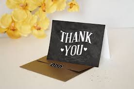 cheap thank you cards exclusive wedding printables free chalkboard