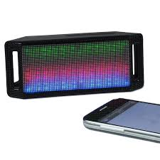 light up bluetooth speaker 4imprint com lumi light up bluetooth speaker 134158 imprinted with