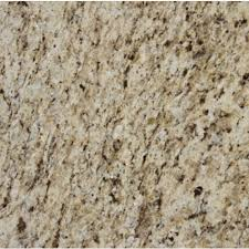 giallo ornamental 3 cm polished granite slab